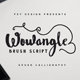 Wowangle Brush Script Font - GraphicRiver Item for Sale