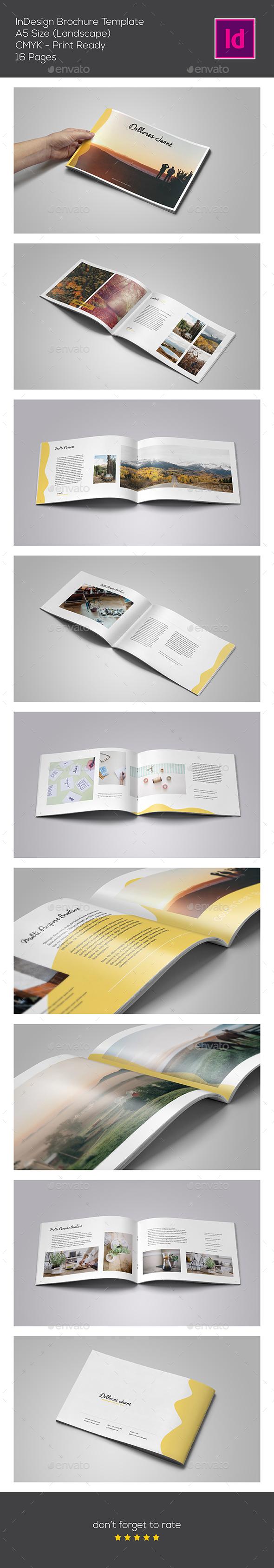 InDesign Multipurpose Brochure - Portfolio Brochures