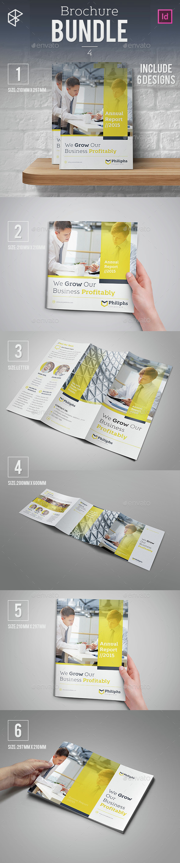 Brochure Bundle 4 - Corporate Brochures