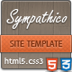 Sympathico - multipurpose site template - ThemeForest Item for Sale