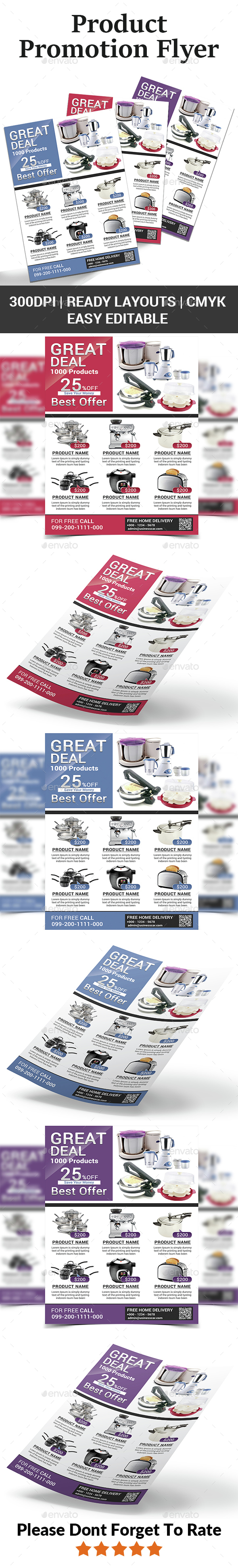 Product Promotion Flyer - Corporate Flyers