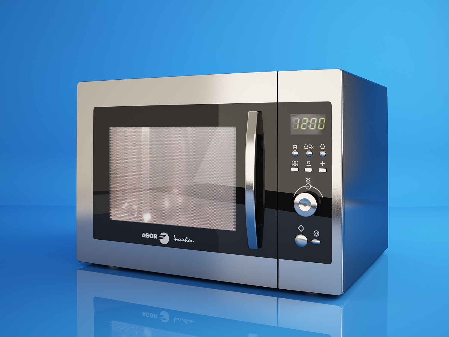 F Agor Microwave Oven By Ratulo 3docean