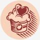 Love Cake Logo - GraphicRiver Item for Sale