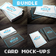 Business Card Mockup Bundle - GraphicRiver Item for Sale