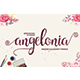 Angelonia Script - GraphicRiver Item for Sale