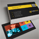 Metro Business Card 02 - GraphicRiver Item for Sale