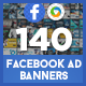 Facebook Ad Banners - 140 Banners - GraphicRiver Item for Sale