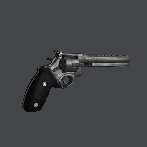 Big Bang - low poly model of a gun - Screenshot 1