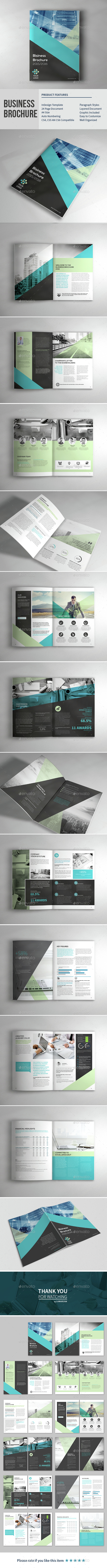 Business Corporate Brochure - Brochures Print Templates