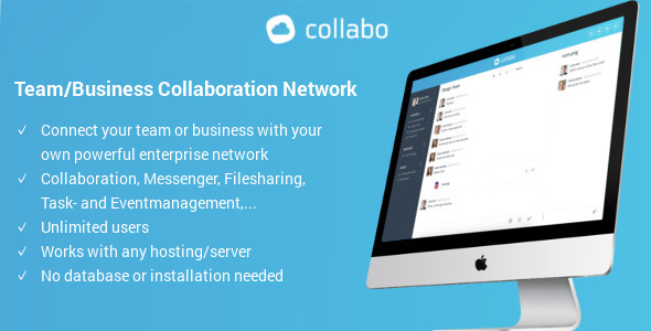 Collabo - Team/Business Collaboration Network - CodeCanyon Item for Sale