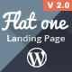 Flatone Sales and Marketing Landing Page - ThemeForest Item for Sale