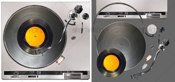 Turntable - Technology Isolated Objects