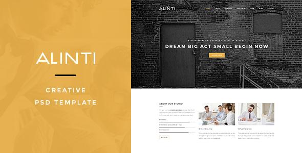 Alinti - Creative PSD Portfolio - Portfolio Creative