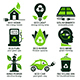 Eco Flat Symbols - GraphicRiver Item for Sale