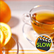 Cup Of Tea, Glass Teapot, Oranges - VideoHive Item for Sale