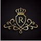 Royal King (Editable Initial / Letter R) - GraphicRiver Item for Sale