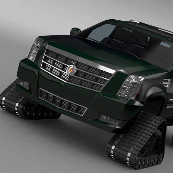 Cadillac Escalade Crawler - 3DOcean Item for Sale