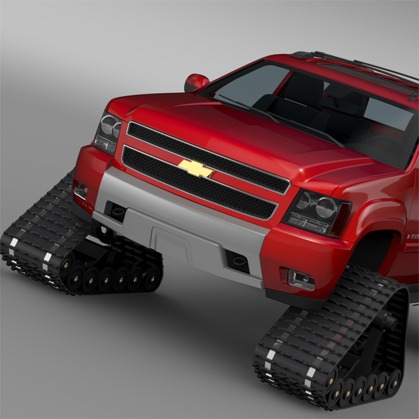 Chevrolet Avalanche Z71 Crawler - 3DOcean Item for Sale
