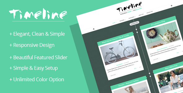 Timeline – A Timeline WordPress Blog Theme