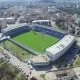 Aerial View Of Soccer Stadium In Podgorica - VideoHive Item for Sale