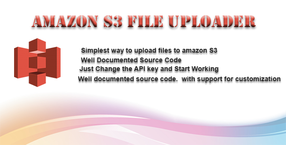 Amazon S3 File Upload via asp.net web forms - CodeCanyon Item for Sale