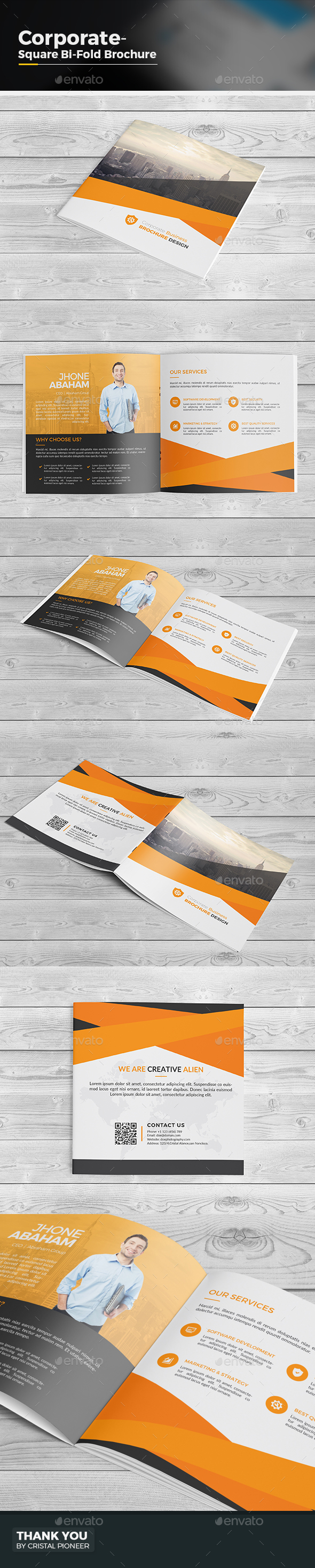BiFold Square Brochure - Corporate Brochures