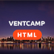 Ventcamp - Event and Conference Template - ThemeForest Item for Sale