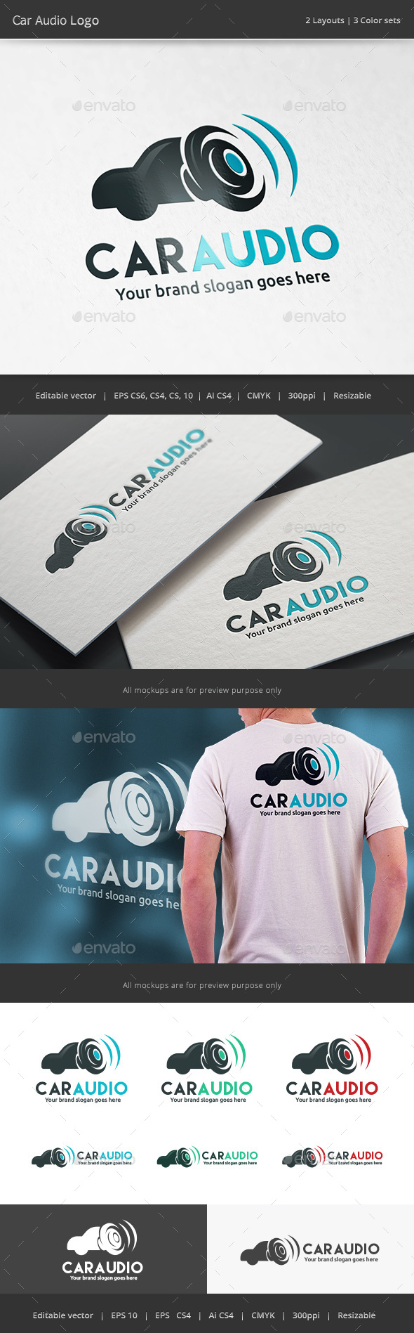 Car Audio Logo