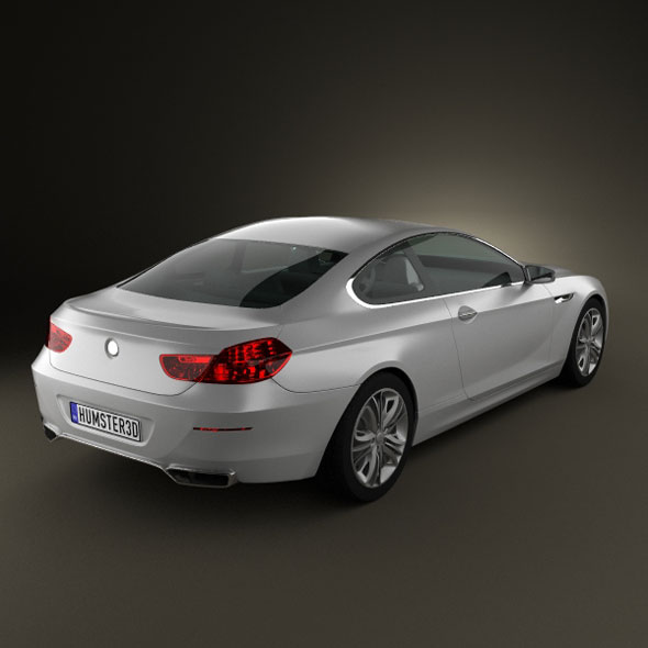 BMW 6 series Coupe by humster3d   3DOcean