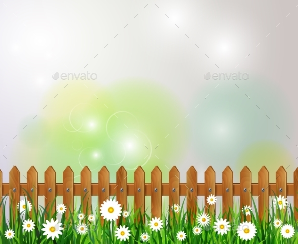 Green Grass Spring Background - Landscapes Nature