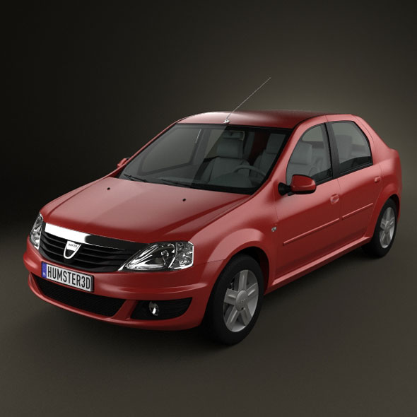 Populaire Renault Dacia Logan 2010 by humster3d | 3DOcean RY61