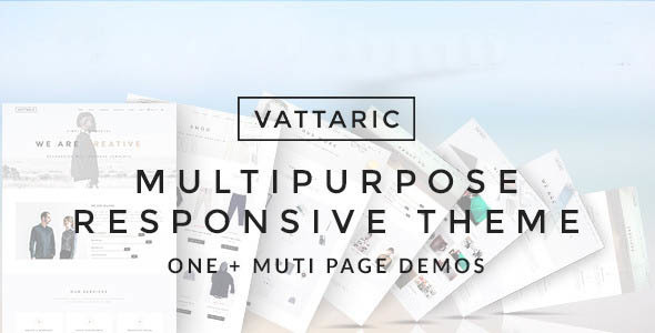 preview.  large preview - Vattaric - Multipurpose Responsive Drupal Theme
