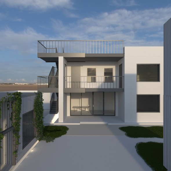 House 200 m2 - 3DOcean Item for Sale