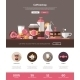 Coffee Shop, Cafe Bakery Website Template - GraphicRiver Item for Sale