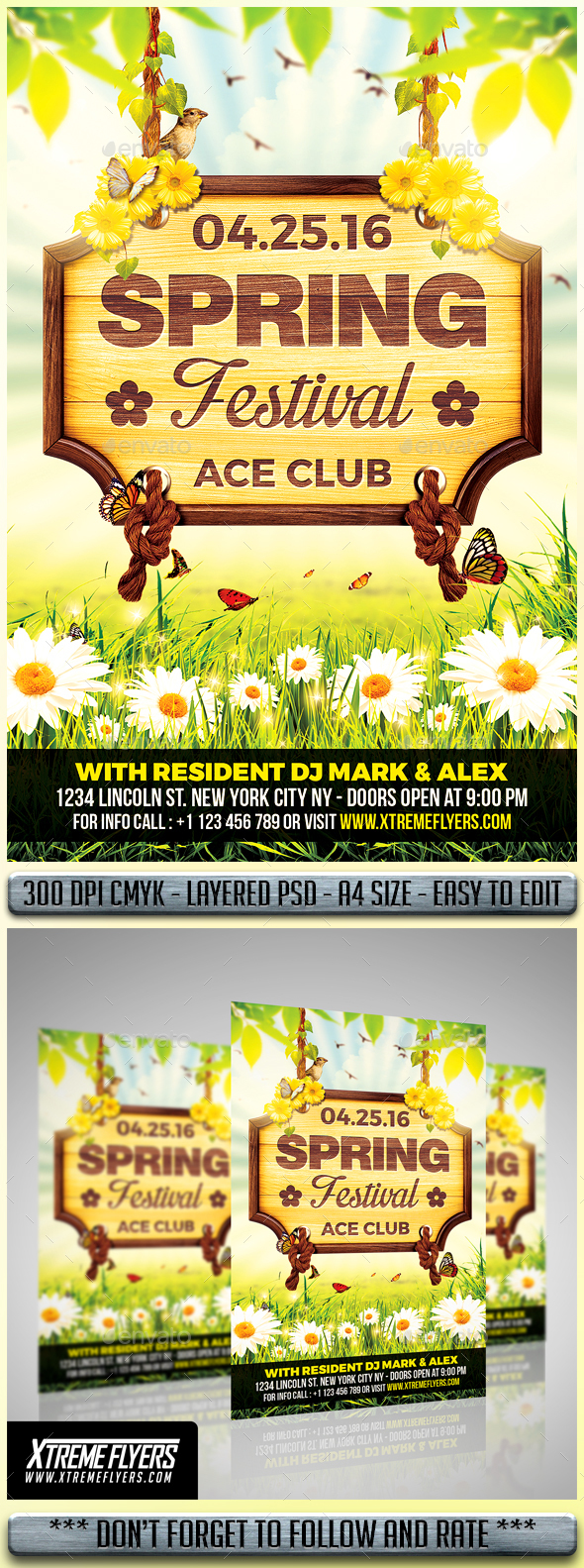 Spring Festival Flyer - Events Flyers