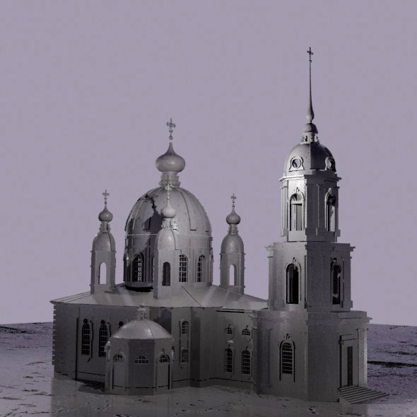 Orthodox Church - 3DOcean Item for Sale