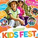 Kids Summer Camp Flyer -Graphicriver中文最全的素材分享平台