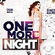 Flyer One More Night - GraphicRiver Item for Sale