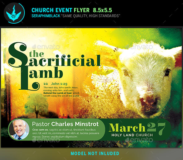 Easter Church Flyer Template - Church Flyers