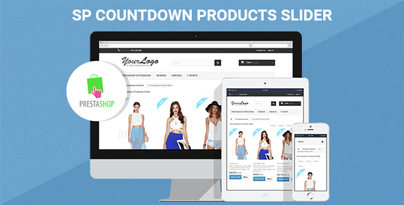 SP Countdown Product Slider - Responsive Prestashop Module - CodeCanyon Item for Sale