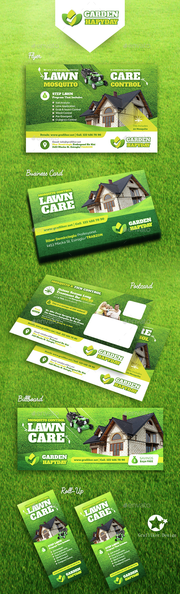 Garden Landspace Bundle Templates - Corporate Flyers