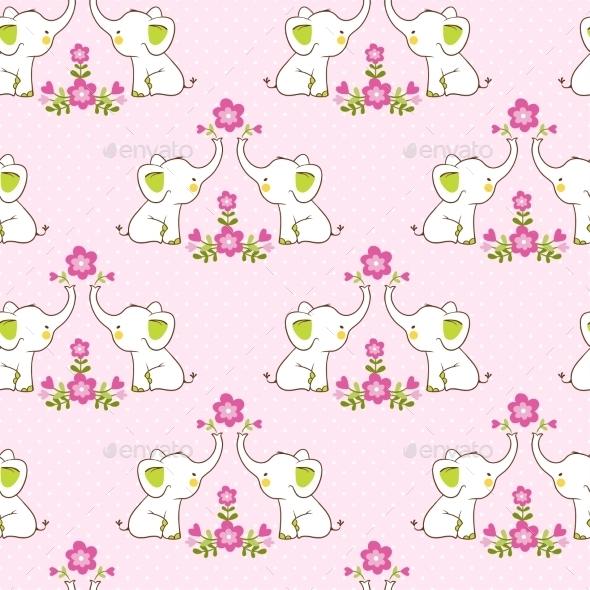 Elephant Background - Flowers & Plants Nature