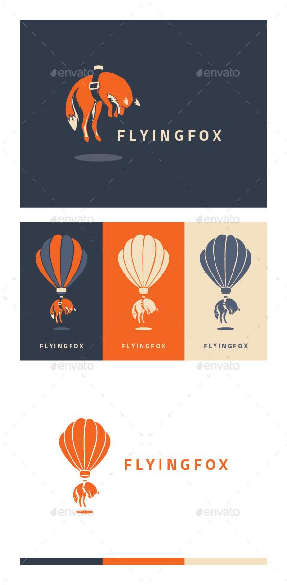 Flying Fox - Animals Logo Templates