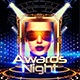 Awards Night Flyer Template - GraphicRiver Item for Sale