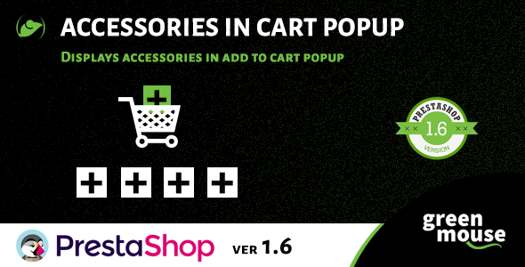 Prestashop Accessories in Cart Popup - CodeCanyon Item for Sale