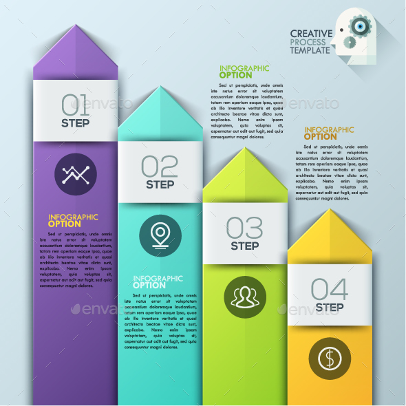 Modern Infographics Arrow Template - Infographics