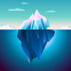 Quarz Iceberg Backdrop - GraphicRiver Item for Sale