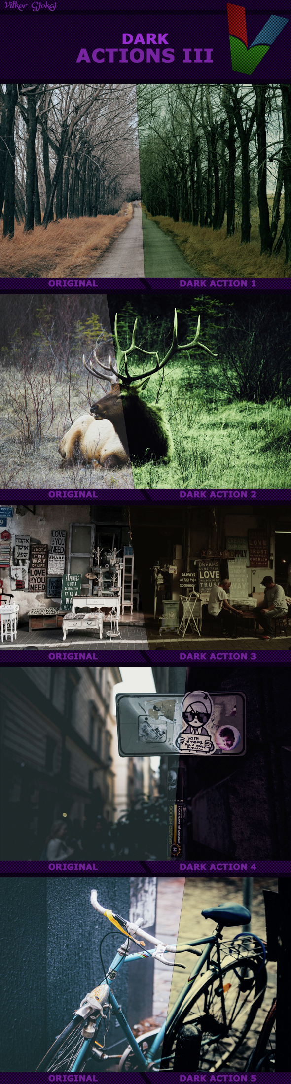 Dark Actions III - Photo Effects Actions