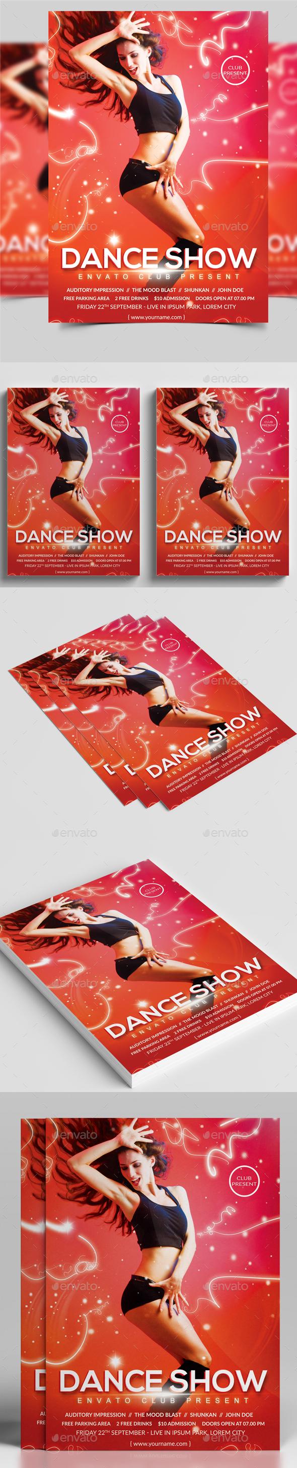 Dance Flyer - Clubs & Parties Events
