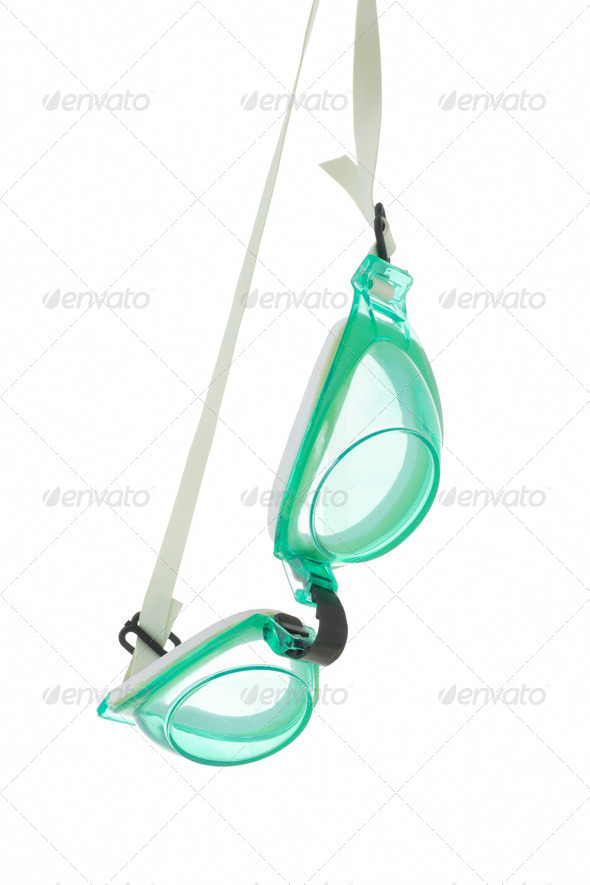 Swimming goggles - Stock Photo - Images